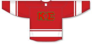 DISCOUNT-Kappa Sigma Breakaway Lettered Hockey Jersey