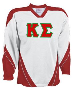 DISCOUNT-Kappa Sigma Breakaway Lettered Hockey Jersey
