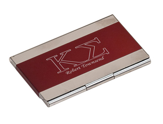 Kappa Sigma Business Card Holder