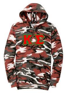 DISCOUNT-Kappa Sigma Camo Pullover Hooded Sweatshirt