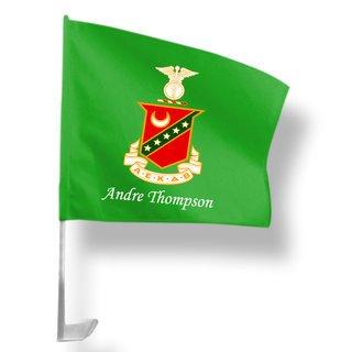 Kappa Sigma Car Flag