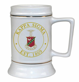 Kappa Sigma Ceramic Stein
