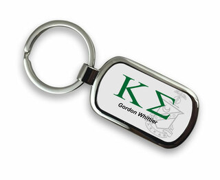 Kappa Sigma Chrome Crest - Shield Key Chain