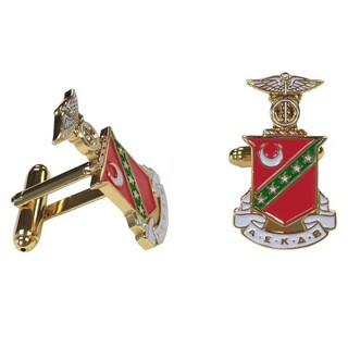 Kappa Sigma Color Crest - Shield Cuff links