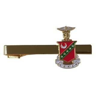 Kappa Sigma Color Crest - Shield Tie Clips