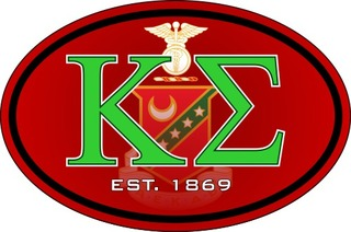 Kappa Sigma Color Oval Decal