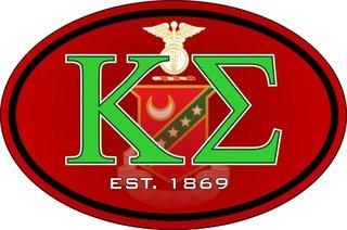 Kappa Sigma Color Oval Decal