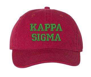 Kappa Sigma Pigment Dyed Baseball Cap