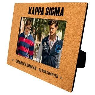 Kappa Sigma Cork Photo Frame