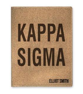 Kappa Sigma Cork Portfolio with Notepad