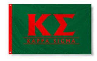 Kappa Sigma Custom Line Flag