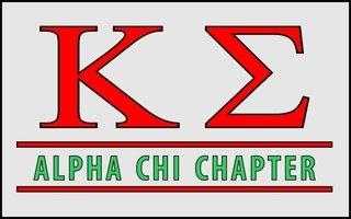 Kappa Sigma Custom Line Sticker Decal