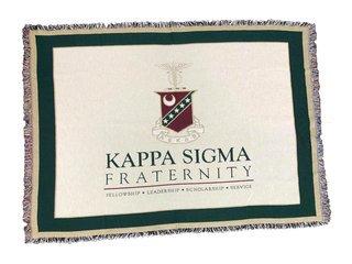 Kappa Sigma Deluxe Afghan Blanket