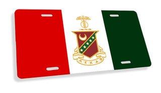 Kappa Sigma Flag License Cover