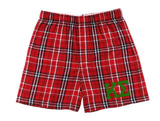 Kappa Sigma Flannel Boxer Shorts