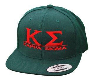 Kappa Sigma Flatbill Snapback Hats Original