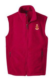 Kappa Sigma Fleece Crest - Shield Vest