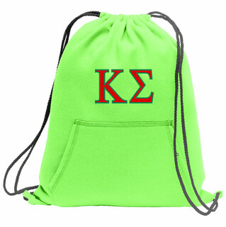 Kappa Sigma Fleece Sweatshirt Cinch Pack