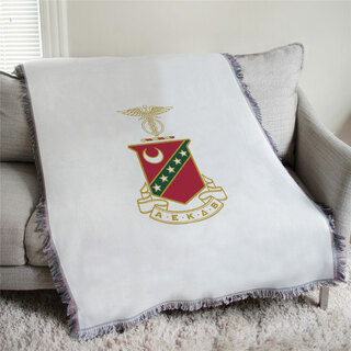 Kappa Sigma Full Color Crest Afghan Blanket Throw