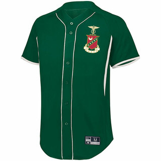 Kappa Sigma Game 7 Full-Button Baseball Jersey
