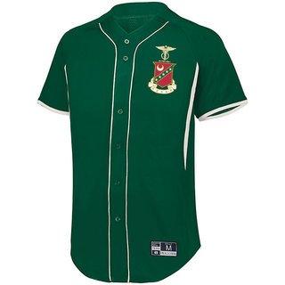 Kappa Sigma Game 7 Full-Button Baseball Jersey