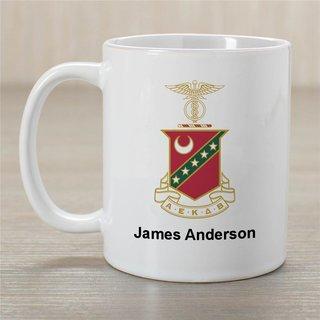 Kappa Sigma Greek Crest Coffee Mug - Personalized!