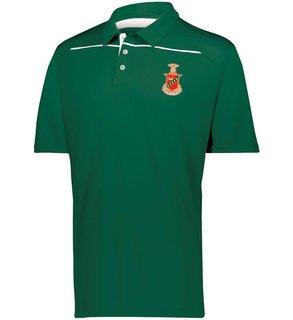 Kappa Sigma Greek Crest Emblem Defer Polo