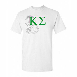 Kappa Sigma Greek Crest - Shield T-Shirt