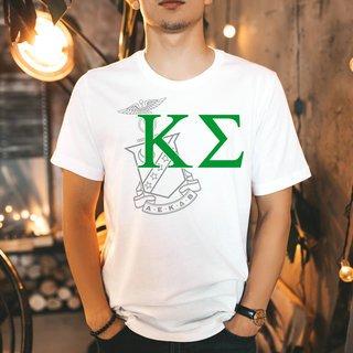 Kappa Sigma Greek Crest - Shield T-Shirt