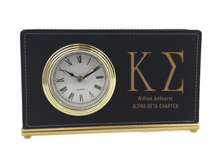 Kappa Sigma Horizontal Desk Clock