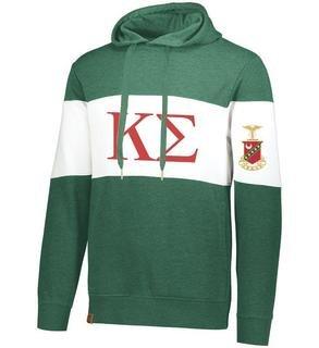 Kappa Sigma Ivy League Hoodie W Crest On Left Sleeve