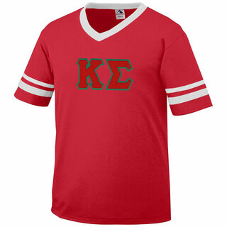 DISCOUNT-Kappa Sigma Jersey With Greek Applique Letters