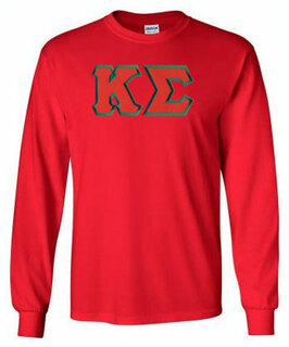 Kappa Sigma Lettered Long Sleeve Shirt