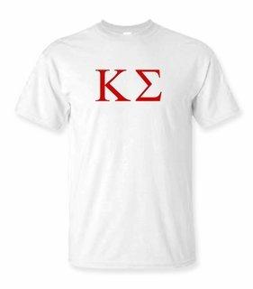 Kappa Sigma Lettered Tee - $9.95! - MADE FAST!