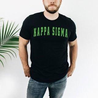 Kappa Sigma letterman tee