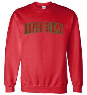 Kappa Sigma Letterman Twill Crew