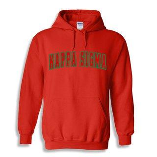 Kappa Sigma Letterman Twill Hoodie