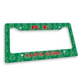 Kappa Sigma Custom License Plate Frame