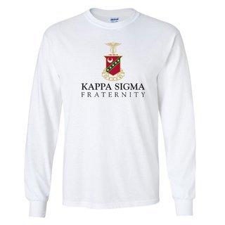 Kappa Sigma Logo Long Sleeve Tee