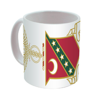 Kappa Sigma Mega Crest - Shield Coffee Mug