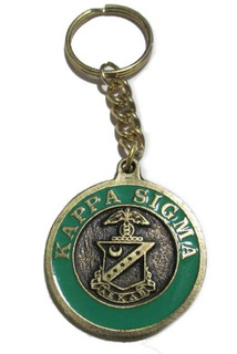 Kappa Sigma Metal Fraternity Key Chain