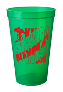 Kappa Sigma Nation Plastic Cup - 10 for $10!