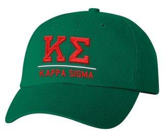 Kappa Sigma Old School Greek Letter Hat