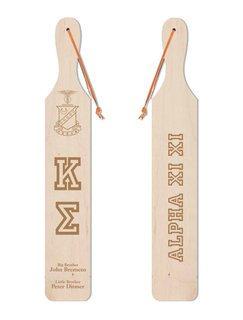 Kappa Sigma Old School Wood Greek Paddle