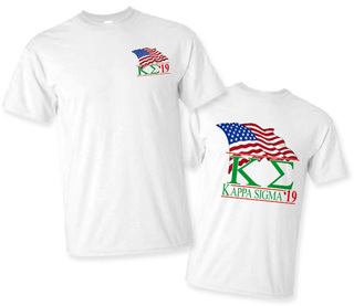 Kappa Sigma Patriot Limited Edition Tee- $15!