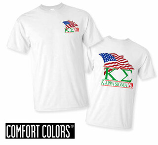 Kappa Sigma Patriot  Limited Edition Tee - Comfort Colors