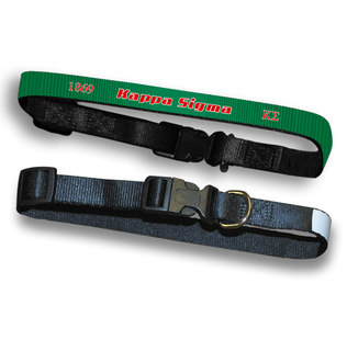 Kappa Sigma Pet Collar