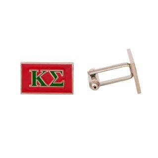 Kappa Sigma Rectangle Cuff Links