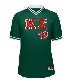 Kappa Sigma Retro V-Neck Baseball Jersey