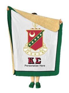 Kappa Sigma Sherpa Lap Blanket